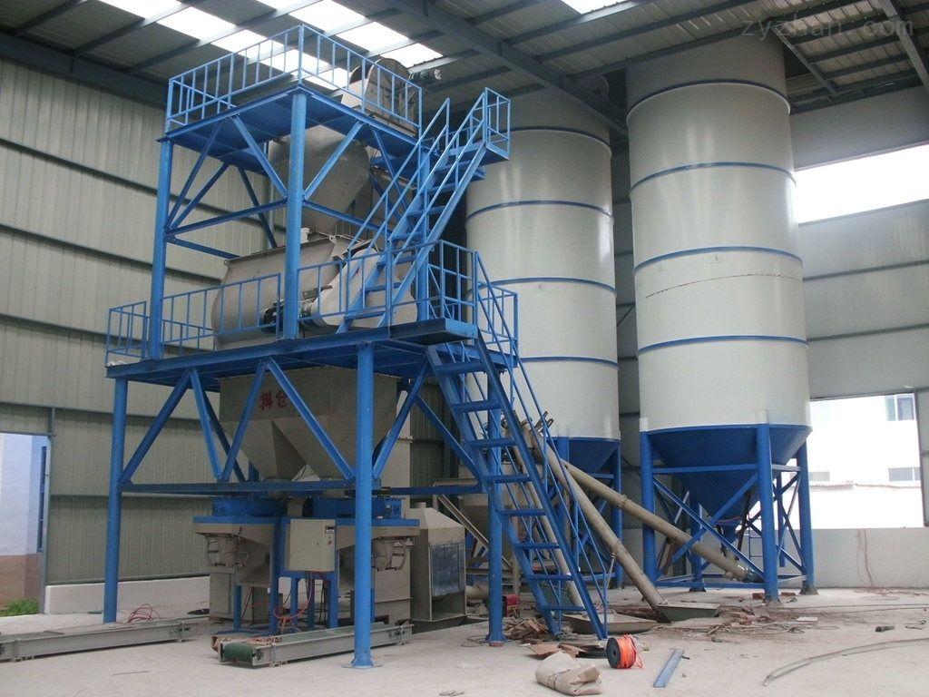 新式干混砂浆生产线生产效率高